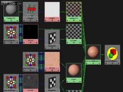 MAYA7.0人体皮肤材质shader教程