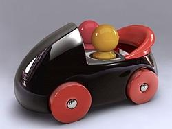 maya打造逼真车子玩具