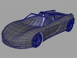MAYA打造保时捷GT-卡雷拉模型