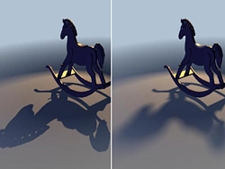 MAYA模拟光线追踪阴影
