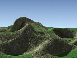 自然场景的布光和材质介绍