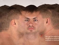 MAYA快速制作照片级脸部贴图