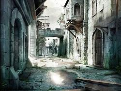 3DSMax渲染战后的古城场景