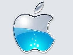 PS制作动态苹果标志