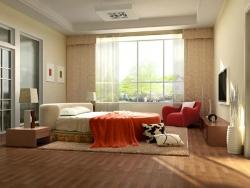 清新卧室设计欣赏