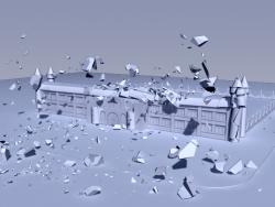 3dsmax2012+RayFire1.59制作爆炸效果