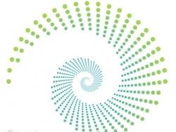 CDR打造漂亮圆点螺旋效果