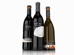 高档葡萄酒酒标设计