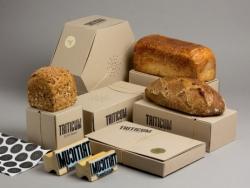 漂亮独特的面包包装设计作品