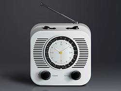 PS鼠绘超写实风格收音机