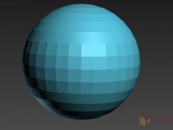 3DMAX光滑组、网格平滑、涡轮平滑详解