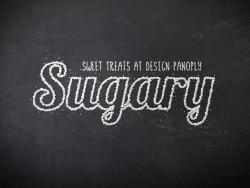 PS制作创意白糖颗粒堆积文字效果