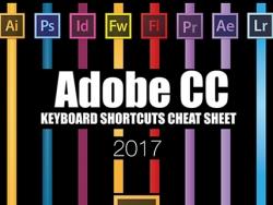 2017 Adobe cc-英文版系列软件快捷键对照表