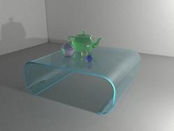 3DSMAX制作有色玻璃教程