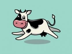 牛奶标志设计
