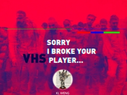 4步掌握VHS故障艺术海报