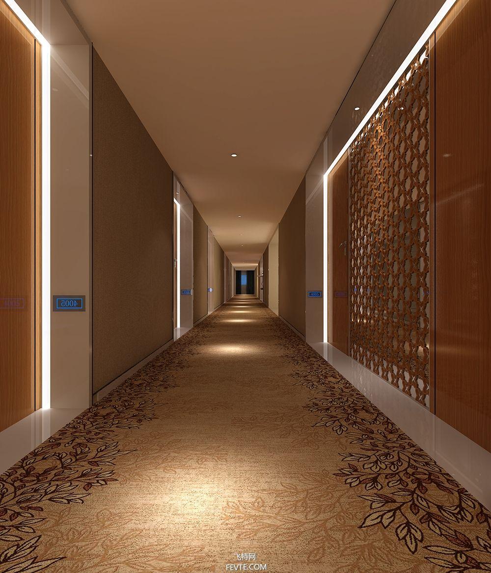 西安维度时尚酒店 红专设计