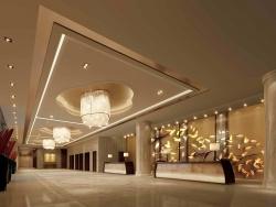 临港国际大酒店室内设计