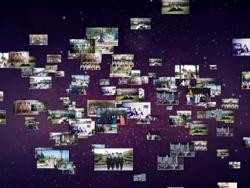 AE粒子制作照片墙效果教程