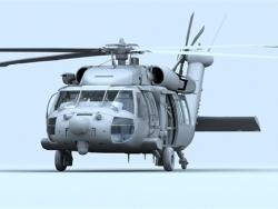 3DSMAX黑鹰直升机建模教程