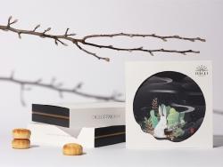 清新风格高端月饼包装设计