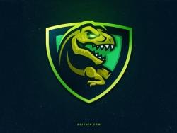 27款恐龙元素标志设计