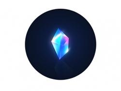 PS鼠绘质感五彩水晶石教程