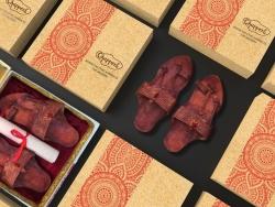 拖鞋包装设计