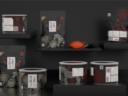 喜鹊包装设计实验室-玉墨黑瓜子礼盒包装设计