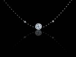 CorelDRAW快速制作闪耀钻石项链效果