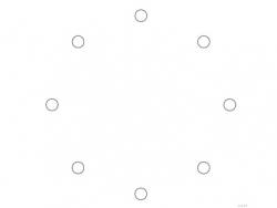 cdr里把圆圈平均分布在一个圆形上