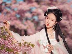 PS调色系列教程——粉嫩樱花少女