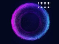 AI制作科幻抽象线条形状教程