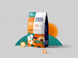 越南咖啡品牌包装设计
