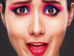 PS彩妆妆容修图案例作品