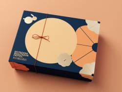 酒店月饼礼盒包装设计