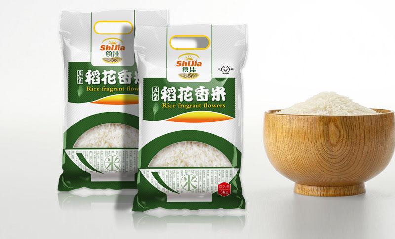 国内大米包装设计案例