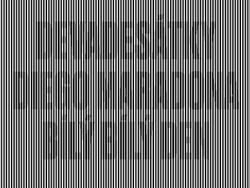 PS简单快速制作黑白视觉字体教程