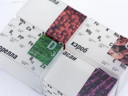微量元素保健品包装设计