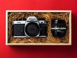 复古风格老式胶片相机包装设计