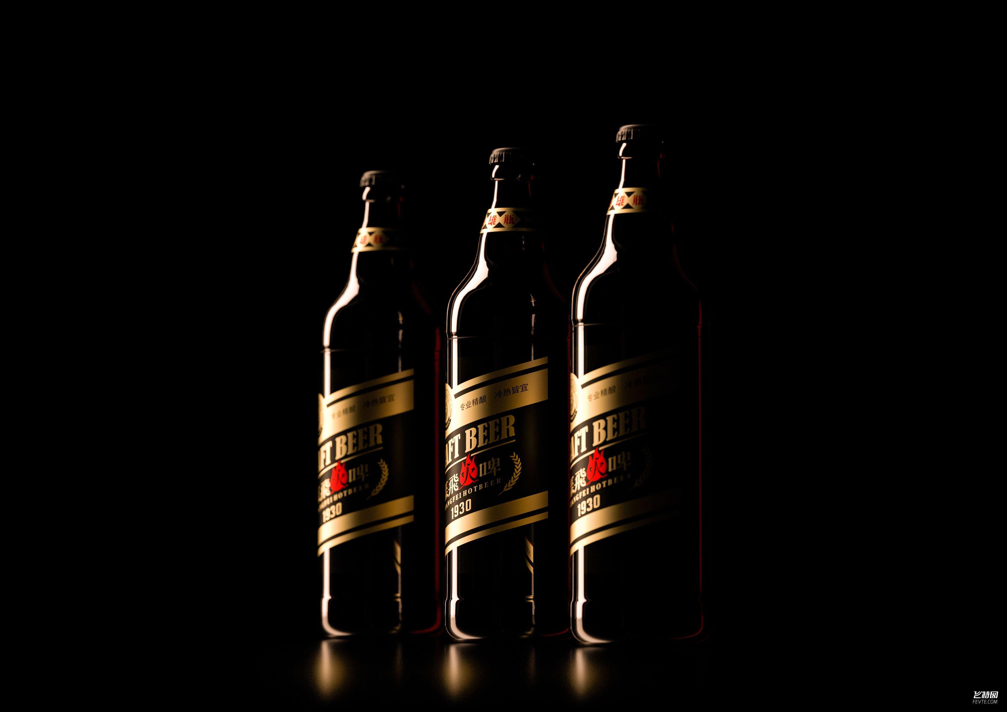 精酿啤酒包装设计 一道设计原创
