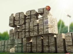 3DMAX制作石墙文字效果教程