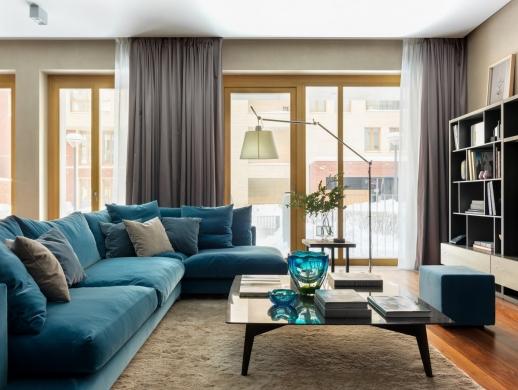 温馨典雅风格的复式楼室内设计