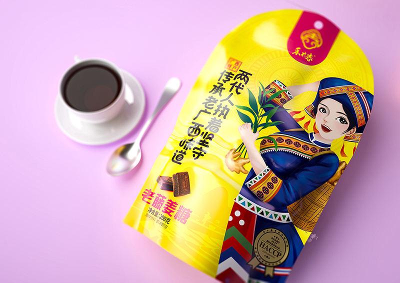 成都包装设计公司一道设计原创红糖包装设计 飞特网 食品包装设计