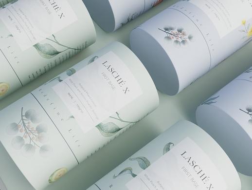 花茶茶粉包装设计