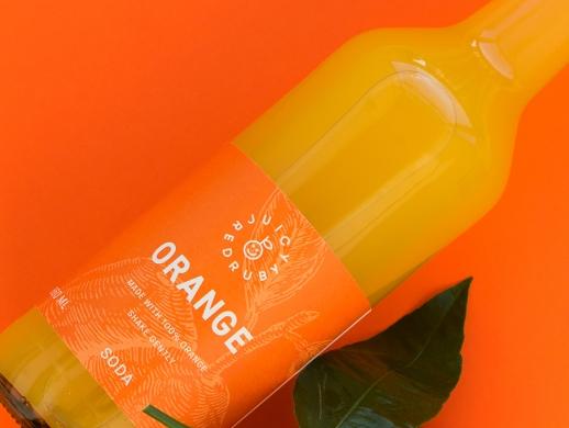 有机健康果汁品牌标志设计