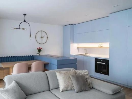 60平女性小公寓室内设计