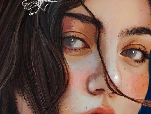 19张女性肖像插画作品欣赏