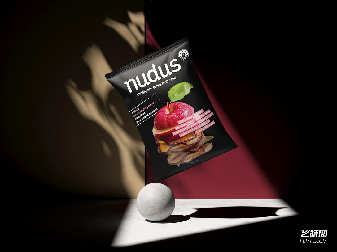 两套果干包装设计 飞特网 食品包装设计