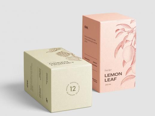 果茶包装盒设计